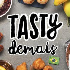 O @tastydemais , linha editorial gastronômica criada pelo maior site de conteúdo viral do mundo, o Buzzfeed, está no Pinterest. Vale seguir e aprender as receitas deliciosas e práticas apresentadas.