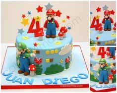Mario Bross. Kids Birthday Cake