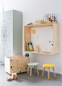 Kids Rooms: Decorating with Natural Wood - Petit & Small