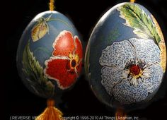 Ukrainian Easter Egg Pysanky UA10-109 from the Lviv Region on AllThingsUkrainian.com