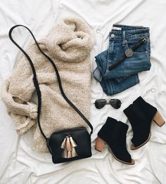 22 + The Run Down on Winter Outfits Exposed - Pecansthomedecor Mode Outfits, Trendy Outfits, Fashion Outfits, Womens Fashion, Party Outfits, Fall Winter Outfits, Autumn Winter Fashion, Spring Outfits, Casual Winter
