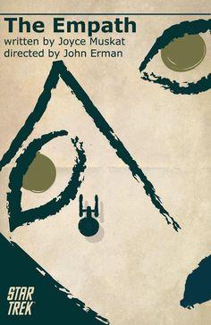 4 trippy Star Trek: TOS tribute posters: Khan's Space Seed + more!   Blastr