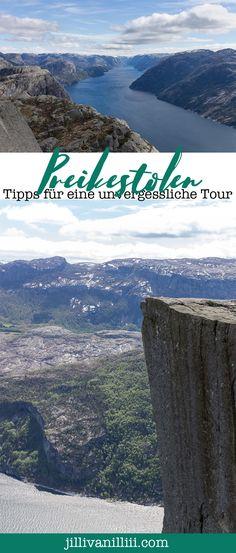 Hier habe ich einige Tipps für Deine Tour zum Preikestolen gesammelt. Von der Anreise über das perfekte Schuhwerk ist alles dabei.  #Preikestolen Stavanger, Wanderlust, Florida, Roadtrip, Art, Air Fresh, Norway, Travel Report, Hiking