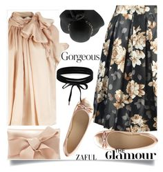 """""""Zaful  11"""" by nejra-l ❤ liked on Polyvore featuring Charlotte Russe, Oscar de la Renta and Boohoo"""