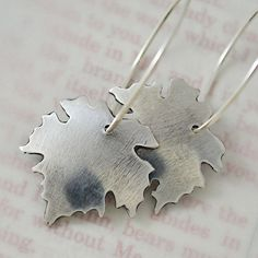 I Am The Vine earrings in sterling silver by Tracy Hibsman. $88.00 >>> www.tracyhibsman.com