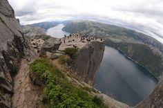 Foto Preikestolen., Zuid- en westkust Noorwegen Door: Martie