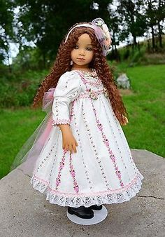 """""""Very Romantic"""" Dress,Clothes,Outfit for 20"""" Dianna Effner Maru and Friends-Lumi"""