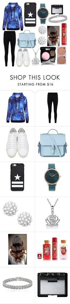 """""""I like you. Is that weird?"""" by sisibff ❤ liked on Polyvore featuring Boohoo, Yves Saint Laurent, The Cambridge Satchel Company, Givenchy, Nixon, Charter Club, Apples & Figs and NARS Cosmetics"""