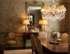 DE GOURNAY WALLPAPER - Chatsworth
