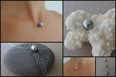"Fashion énorme 10-11 mm Hydratation South Sea Authentique Blanc Perle Baroque Collier 18/"""