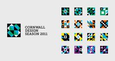 branding for cornwall design season 2011 by a-side