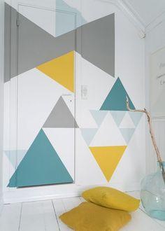 Habiller les murs avec la couleur