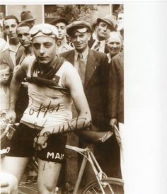The young Campionissimo - Fausto Coppi