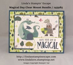 Magical Day Bundle from the Myths & Magic Product Suite by Stampin' Up! www.lindaluvs.stampinup.net