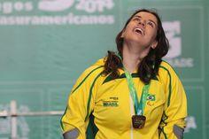 A brasileira Amanda de Sousa, 26, herdou a medalha de bronze da etapa de Eger da Copa do Mundo de halterofilismo. O evento acont...