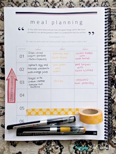 Ramadan Planner. I really like this one. It's very comprehensive.