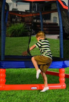 Trampoline Reviews: JumpSport  Soft Bounce Trampoline
