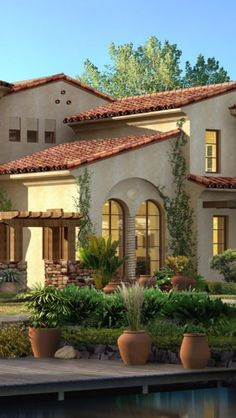 Luxury Spanish style home