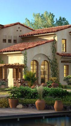 Luxury Spanish style home