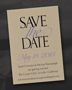 Lallie© Save the Date