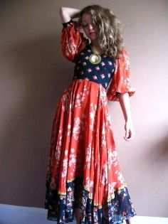 okay... the color and prints aren't great, but i absolutely love this type of dress!