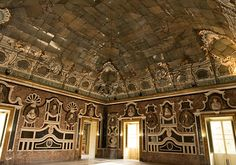 Hall of Mirrors in Villa Palagonia | The Sicilian Baroque - The Baroque Architecture and Art of Sicily