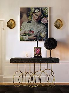 @KOKET Love Happens Love Happens Projects with Passion Sconce and Burlesque Console http://www.bykoket.com/projects.php