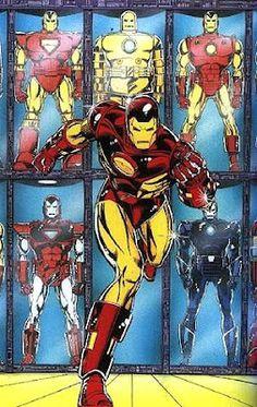 Gallery: Item Gallery: I: Iron Man Armor Model 9 Trading Cards Gallery: Item Gallery: I: Iron Man Armor Model 9 See Also Main Article: Iron Man Armor Model Image List: Iron Man Armor Model 9 Marvel Dc Comics, Marvel Heroes, Marvel Avengers, Comic Books Art, Comic Art, Superhero Images, Deadpool, Marvel Cards, Iron Man Armor