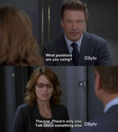 """30 Rock Season 7 Episode 1: The Beginning of the End. """"The one. There's only one. Talk about something else."""""""