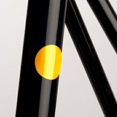 Magnetic reflectors, yellow, by Bookman.