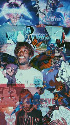lil uzi vert wallpaper since there's barely any :/ Rapper Wallpaper Iphone, Hype Wallpaper, Trippy Wallpaper, Iphone Background Wallpaper, Cartoon Wallpaper, Ocean Wallpaper, Phone Backgrounds, Aesthetic Pastel Wallpaper, Aesthetic Wallpapers