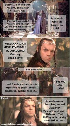 Arwen-Undomiel.com :: Dedicated to J.R.R. Tolkien's Lord of the Rings :: Humorous Images