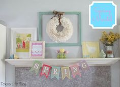 There were so many great ideas for Easter and Spring. Here are 8 Fun Easter Crafts