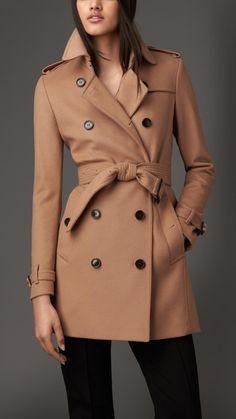 Trench coat de lana y cachemir | Burberry