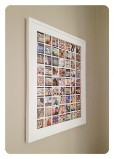 Collage of favorite Instagram pics. Love this! Made the collage in Photoshop and had it printed as a 16x20 at Costco for $6! via Becky Higgins at Project Life.
