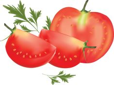 This high quality free PNG image without any background is about tomato, salad fruit, red fruit and tomatoes. Ham Recipes, Vegetarian Recipes Easy, Fruit Recipes, Potato Recipes, Easy Dinner Recipes, Red Tomato, Red Fruit, Ground Beef Recipes, Clip Art