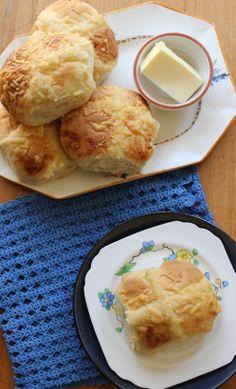 Double-Cheese Hot Cross Buns Recipe