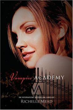 Vampire Academy, book 1 in Vampire Academy book series.  #RichelleMead #VampireAcademy