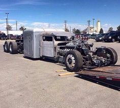Amazing rat rod truck cab