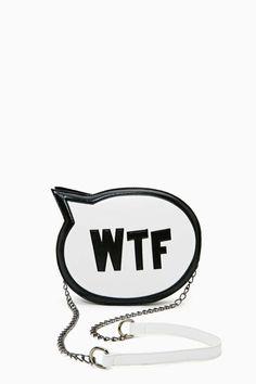 Nasty Gal SRSLY WTF Bag | Shop Bags at Nasty Gal