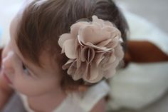 DIY: Satin and Tulle Ruffle Flower Hair Piece  These two lovebirds were married this past weekend. I am so glad that my broth...