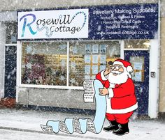 Christmas is on its way and Santa is stocking up on some lovely Hand Crafted items. www.rosewill-cottage.co.uk