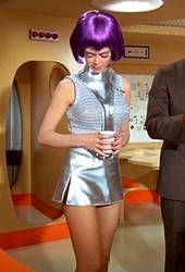 Gabrielle Drake as Lt. Gay Drake, commander of the SHADO moon base. Sci Fi Tv Series, Space Tv Series, Divas, Moda Retro, Actrices Sexy, Space Girl, Sci Fi Movies, Sf Movies, Classic Tv