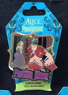 View Pin: DLRP - Alice In Phantomland - Alice, Queen of Hearts and King of Hearts