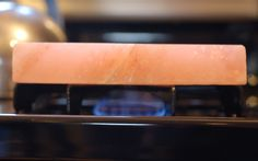 A step-by-step guide to cooking a steak on a pink Himalayan salt block.