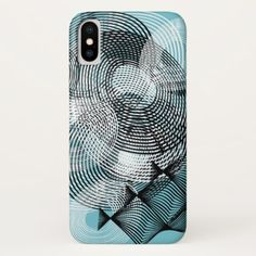 #Spiral Pattern iPhone X Case - #giftsforher #gift #gifts #her