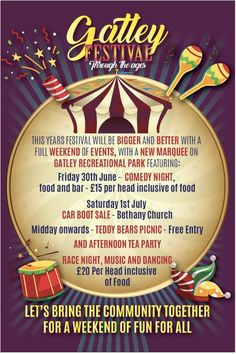Bethany Church, Car Boot Sale, Comedy Nights, 30th, Encouragement, June