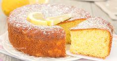 Sofficissima questa torta senza bilancia al limone, profumata e deliziosa, per prepararla non si pesa nulla, serve solo un cucchiaio!