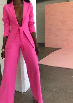 afrikanischer stil Two Piece Set Reda Runway Suit Fashion, Work Fashion, Fashion Dresses, Fashion Looks, Womens Fashion, Fashion Design, Classy Outfits, Cute Outfits, Men's Suits