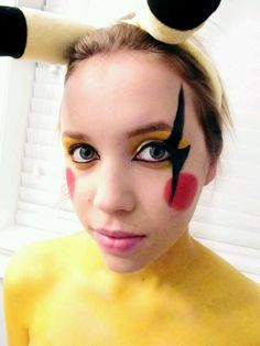 pikachu makeup - Google Search